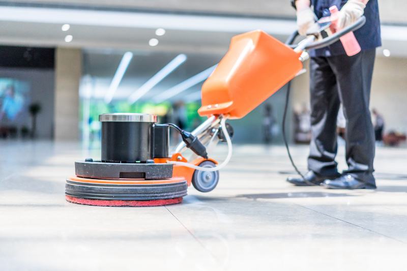 commercial floor cleaning services in Grand Rapids